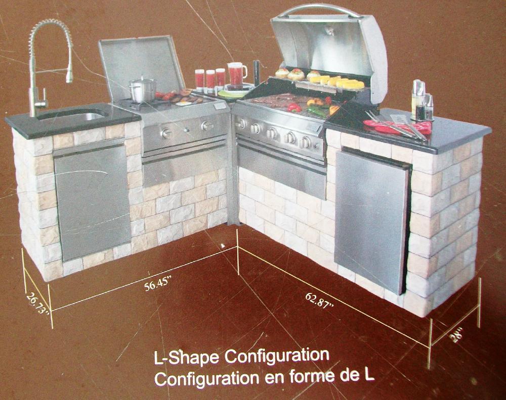 Liquidation de cuisine bbq ext rieur neuf annonce class e for Liquidation meuble de cuisine
