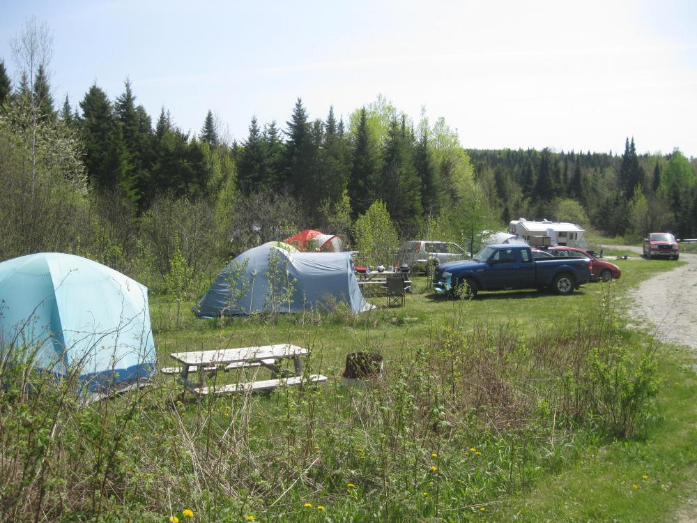Domaine avec 7 chalet terrain de camping centre de for Centre detente