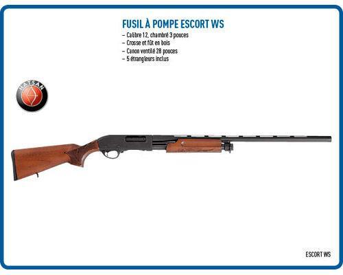 Fusil à pompe Escort WS