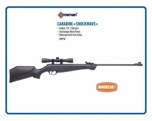 Carabine « Shockwave »