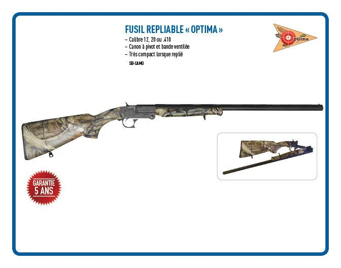 Fusil Repliable Optima