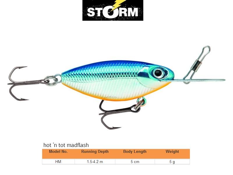 Leurres / Storm Hot n' Tot Fishing Lures