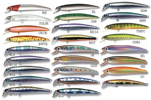 Leurres / Pin's Minnow Fishing Lures