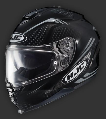 Casque hjc is 17 spark int graux dot for Portent item protection