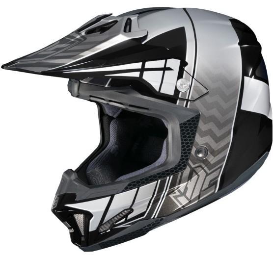 Casque hjc cl x7 cross up noir snell dot motocross for Portent of item protection