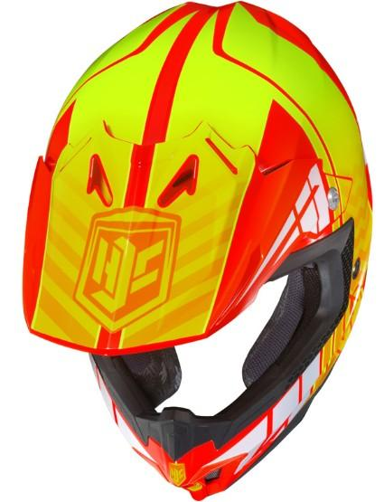Casque hjc cl x7 cross up snell dot motocross for Portent of item protection