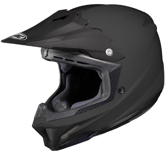 Casque hjc cl x7 solid noir mat snell dot motocross for Portent of item protection