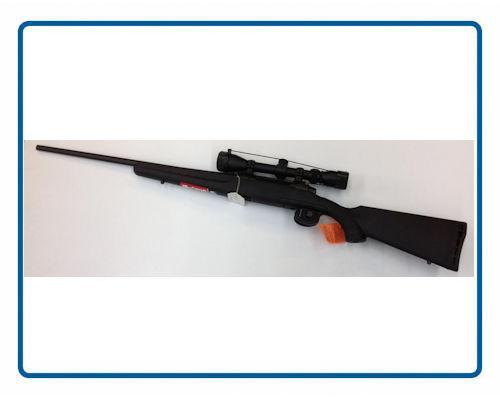 Carabine Savage Model 111 avec Accu Trigger et Lunette Calibre 300 Win Mag (Gaucher)