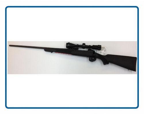 Carabine Savage Model 11 ou 111 avec Accu trigger et lunette Calibre 243 Win 308 Win, 30-06, 7mm Rem