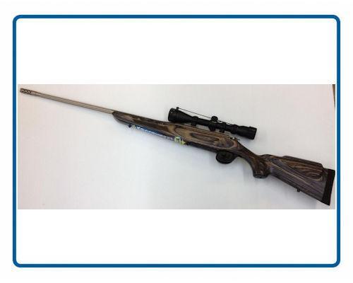 Carabine Mossberg Laminée SS Model 4x4 avec scope Calibre 300 Win, 30-06,270 Win, 300WSM