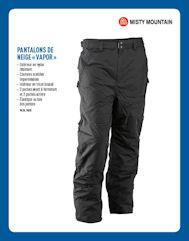 Pantalons isolés ''Vapor''