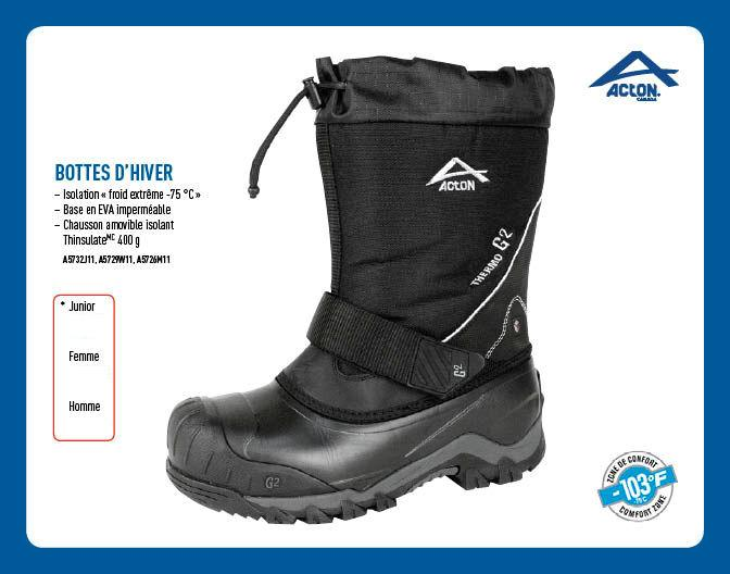 Bottes Acton Thermo G2 Junior