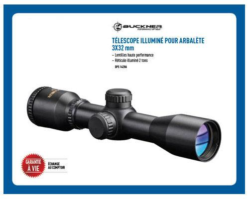 Téléscope illuminé pour Arbalète 3X32mm