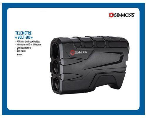 Télémètre Laser Simmons Volt 600/ Simmons Laser Range Finder