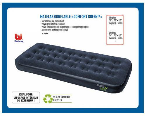 Matelas Gonflable Comfort Green
