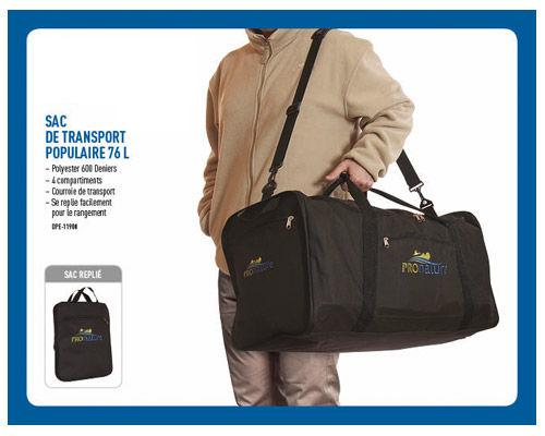 Sac de Transport populaire 76L