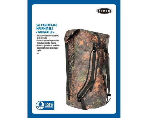 Sac Camouflage Imperméable Wildwater