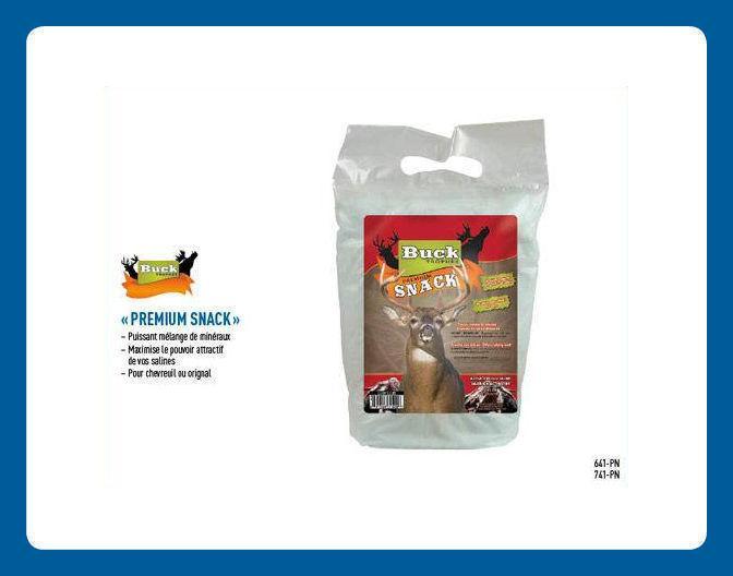 Mélange de Minéraux « Premium Snack »