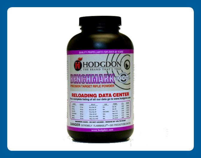 Hodgdon Benchmark Precision Target Rifle Powder