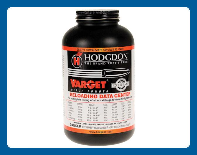 Hodgdon Varget Rifle Powder