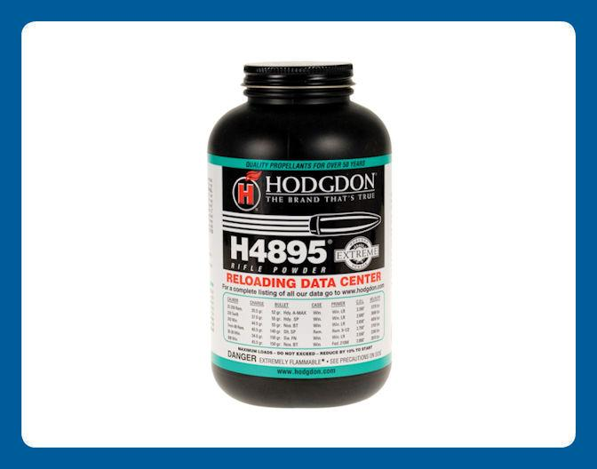 Hodgdon H4895 Rifle Powder