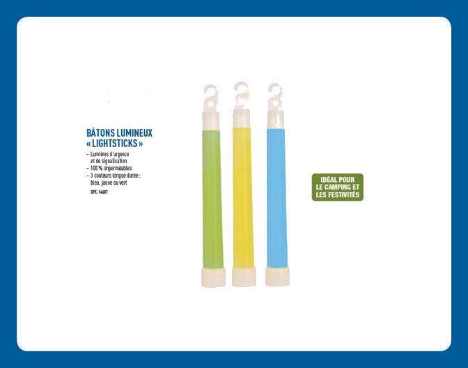 Bâton Lumineux «Lightsticks»