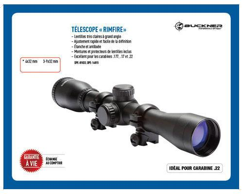 Télescope Rimfire 3-9X32 mm