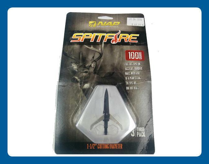 Pointes de Chasse NAP Spitfire Coupe 1.5