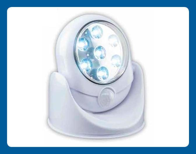 Lampe « Sentinelle » à détecteur de mouvements