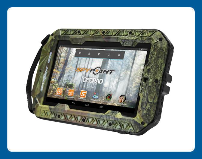 Tablette de Chasse Geopad Spypoint