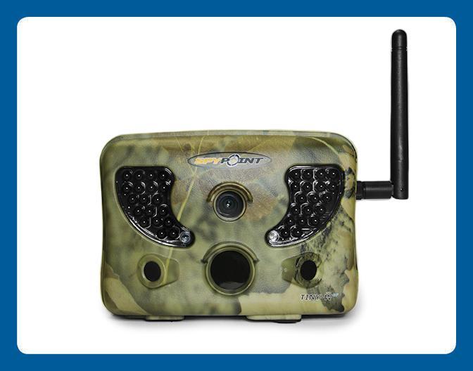 Système de caméra de chasse sans fil Spypoint TINY-WBF