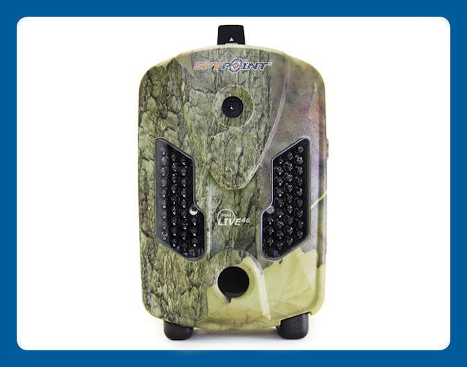 Caméra de chasse cellulaire Spypoint Mini LIVE 4G