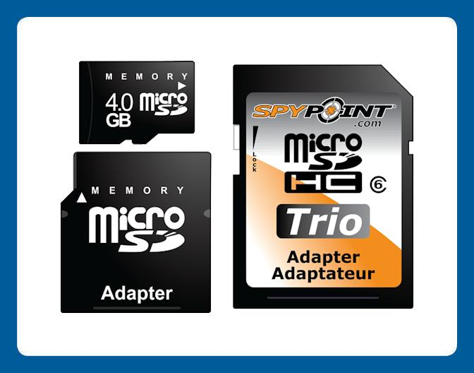 Cartes Mémoire SD 4GB, 8GB, 16GB, 32GB