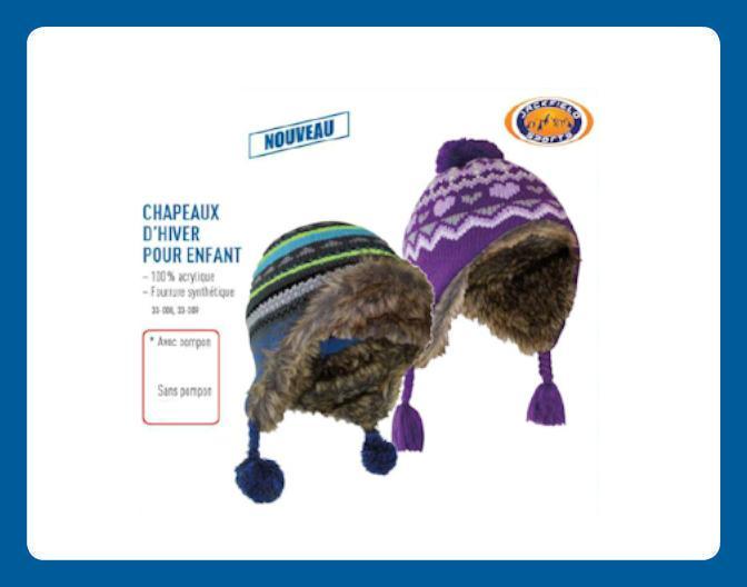 Chapeaux D'hiver pour enfants