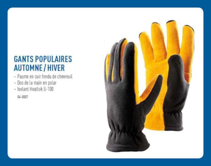 Gants Populaires Automne/Hiver