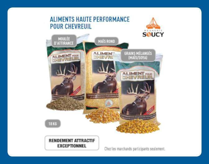 Aliments Haute Performance Pour Chevreuil