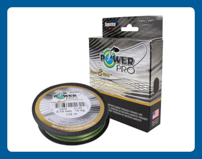 Ligne à Pêche Power Pro Super 8 Slick