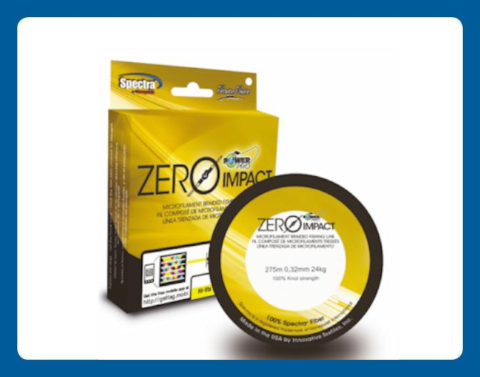 Ligne à Pêche power Pro Zero Impact