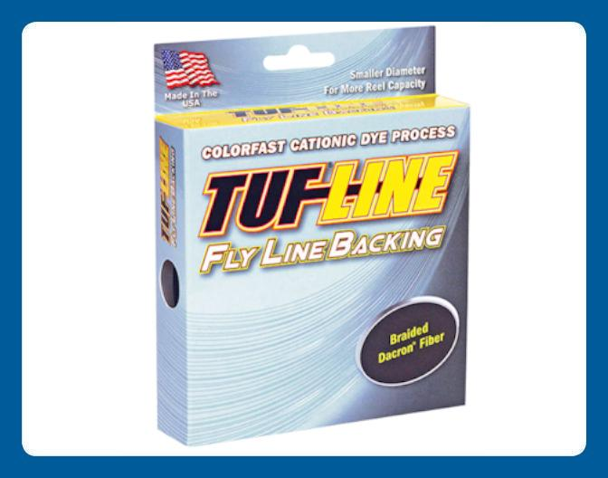 Ligne à Pêche TUF-LINE Fly line Backing