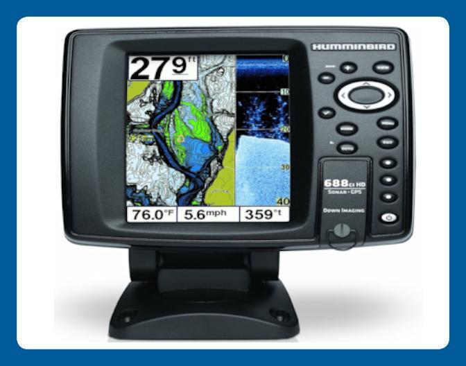 Humminbird Sonar & GPS Mapping Fishfinder 688