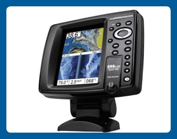 Humminbird Side Imaging Sonar & GPS Mapping Fishfinder 698SI