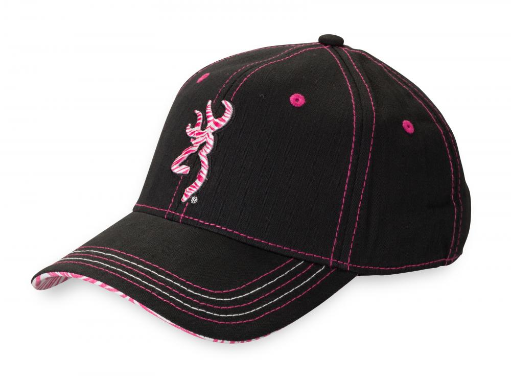 CASQUETTE BROWNING DIVA FOR HER ROSE/NOIR