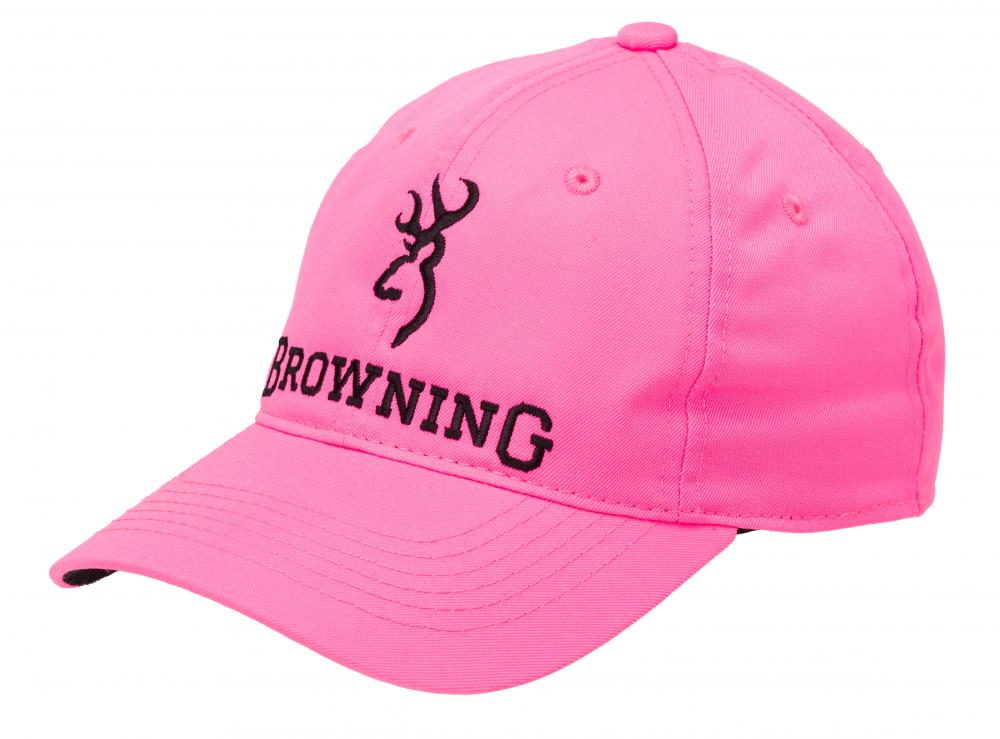 CASQUETTE BROWNING BLAZE PINK