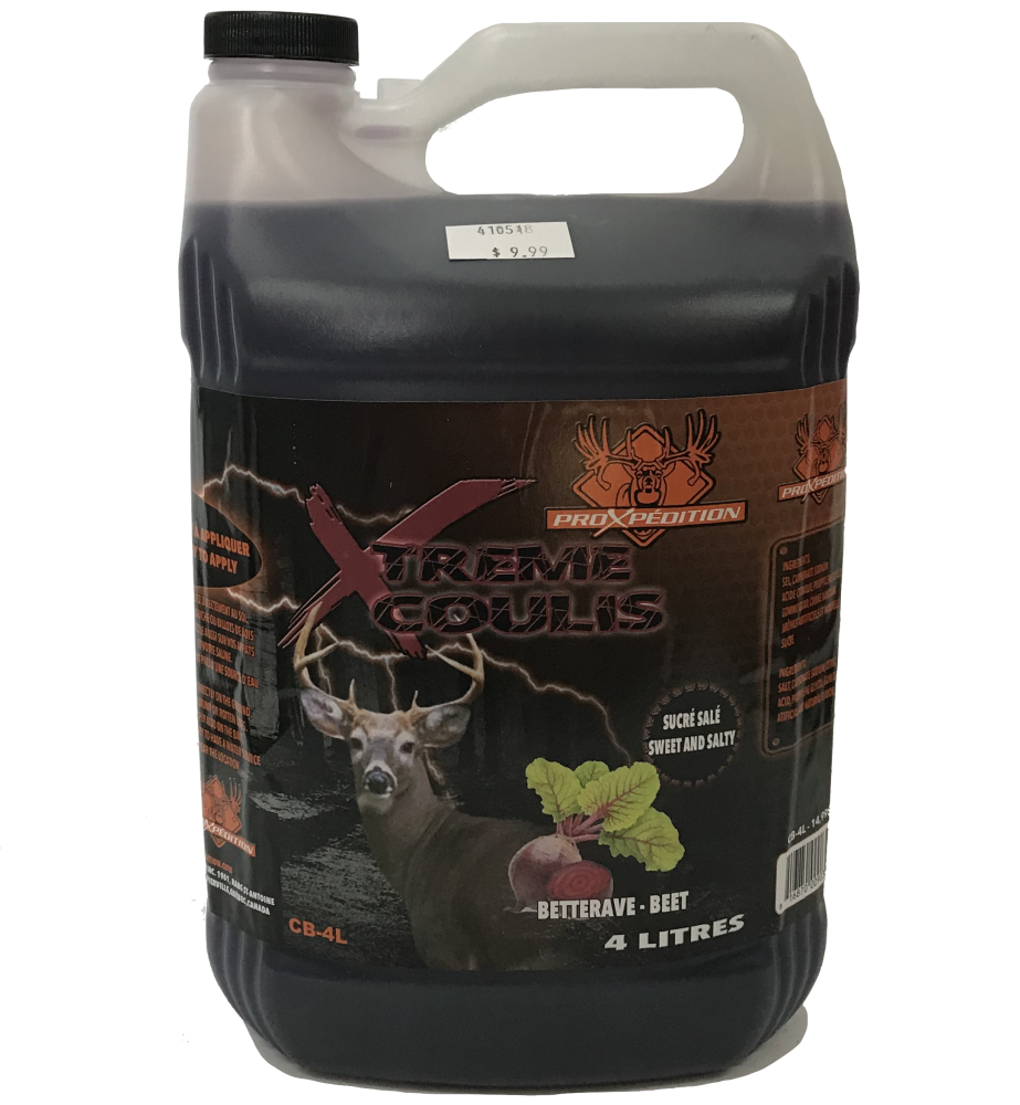 ProXpédition Xtreme Coulis Betterave 4L