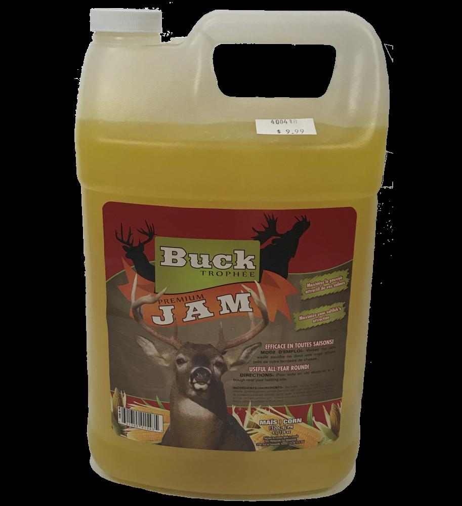 Buck Trophée Premium Jam Maïs 4L