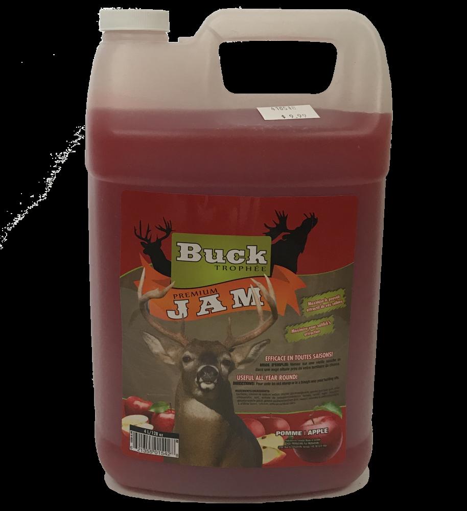Buck Trophée Premium Jam Pomme 4L