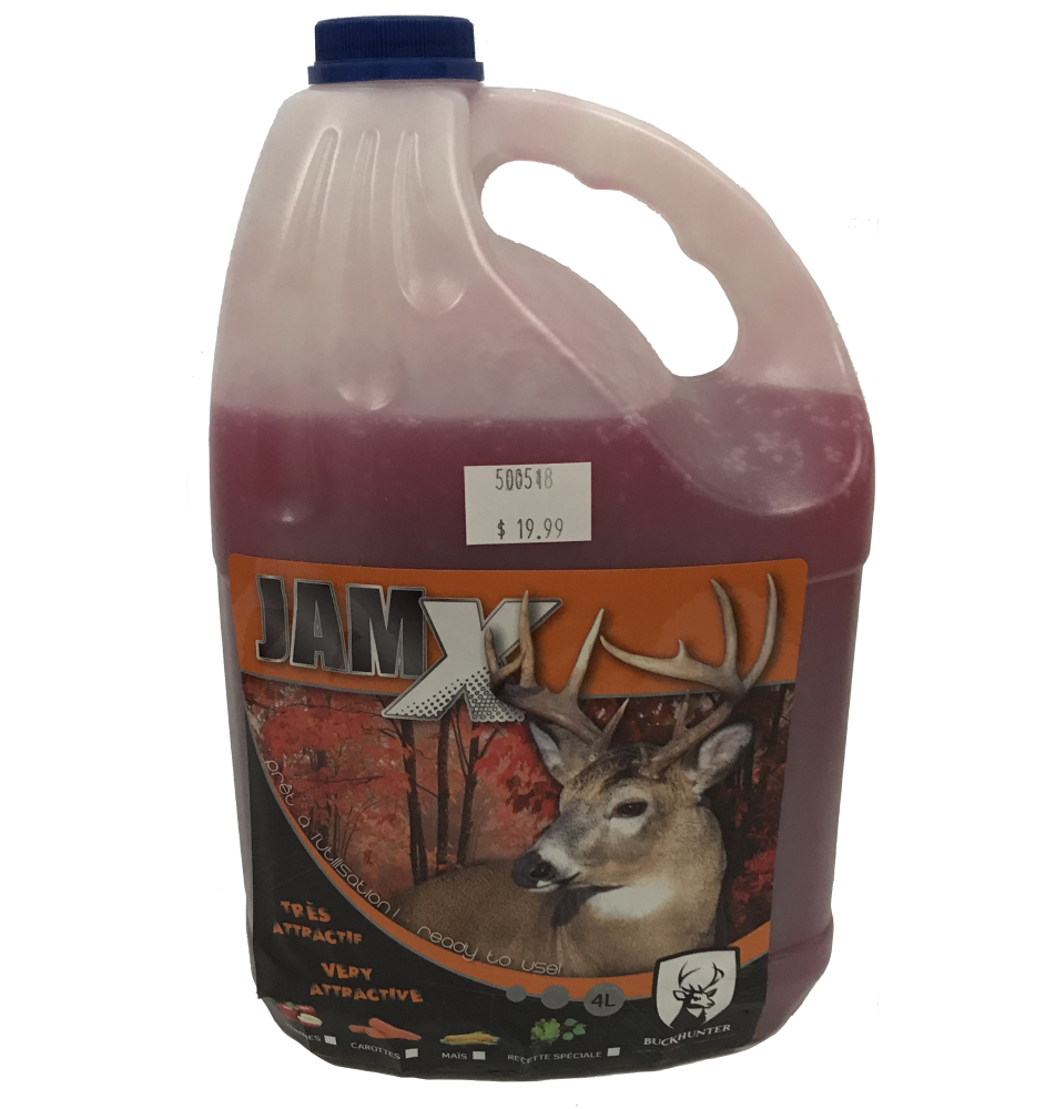 Buck Hunter JamX Pomme 4L
