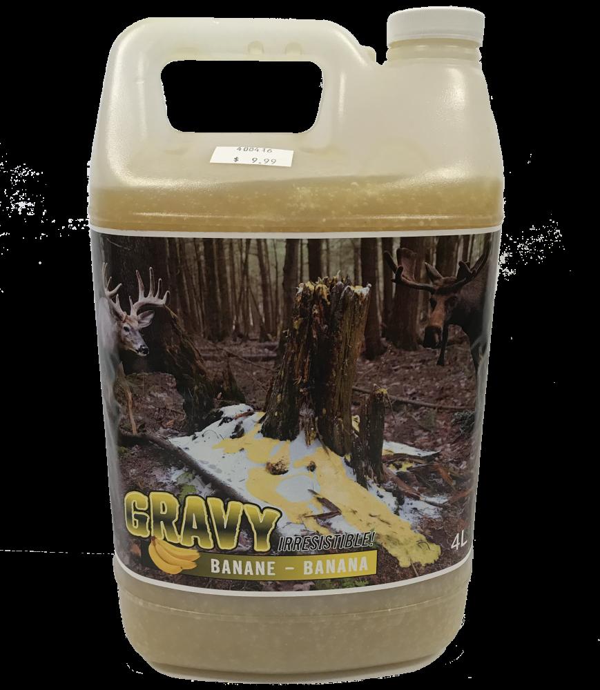 Gravy Irresistable Banane 4L