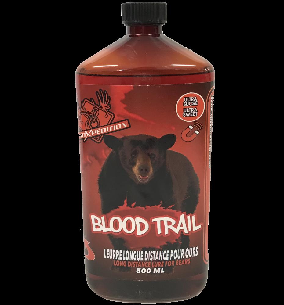 ProXpédition Blood Trail Leurre Longue Distance Pour Ours Ultra Sucré