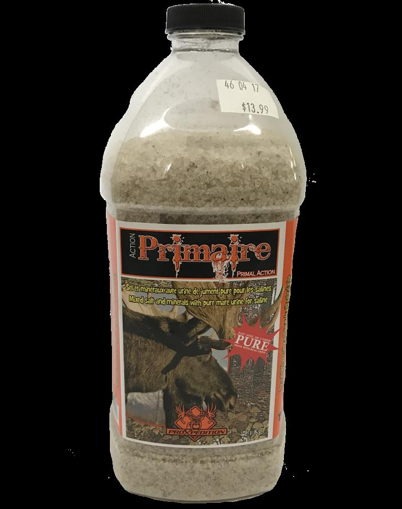 ProXpédition Action Primaire Sel et Minéraux avec Urine de Jument Pure